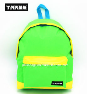 Candy Color Contrast Color Backpack Bag for School, Travel, Leisure pictures & photos