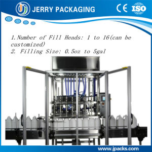 Automatic Chemical Pesticide Bottle Bottling Liquid Filling Machine pictures & photos