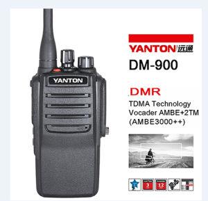 256channels 136-174MHz Dmr Walkie Talkie (YANTON DM-900)