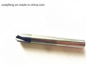 CNC Tungsten Carbide 4 Flute Tialn Coated Chamfer Mill pictures & photos