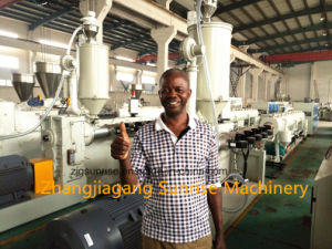 Automatic Plastic PVC Pipe Production Line pictures & photos