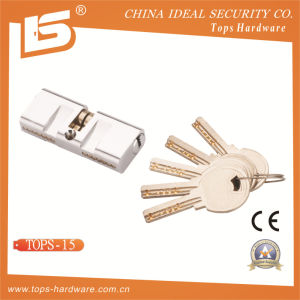 Brass Normal Key Lock Cylinder (TOPS-15) pictures & photos
