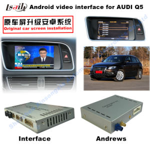 Car Upgrade Multimedia HD Android System GPS Video Interface Navigator for Q5 Support DVD/TV/Mirrorlink pictures & photos