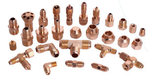 Customized Air Conditioning and Refrigeration Nut Copper Fittings Elbow on Sale pictures & photos