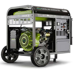 3kw to 6kw Air-Cooled 100%Copper Gasoline Generator with Wheels pictures & photos