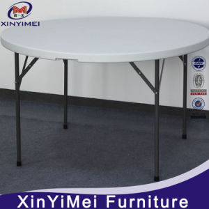 Durable Round Plastic Folding Table pictures & photos