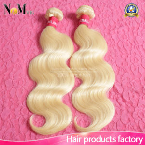 2017 New Fashion 613# Bleach Brazilian Blonde Human Hair pictures & photos