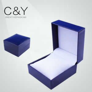 Special Paper Cover Plastic Jewellery Packaging Box pictures & photos