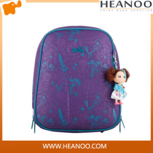 Hot Sales Girl Polyester Student Backpack EVA School Bag pictures & photos