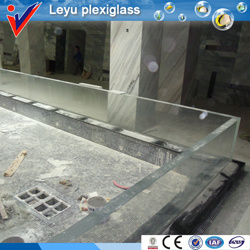 Custom Clear Thick Plexiglass for Swimming Pool