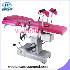 Hospital Hydraulic Single Delivery Bed pictures & photos
