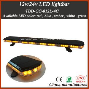 Newest Super Slim LED Warning Light Bar in Amber LEDs and Tir Lens pictures & photos