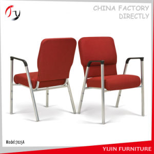 Stackable Wholesale Metal Durable Linked Steel Church Chair (JC-01) pictures & photos