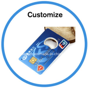 Custom Logo Credit Card Bottle Opener pictures & photos
