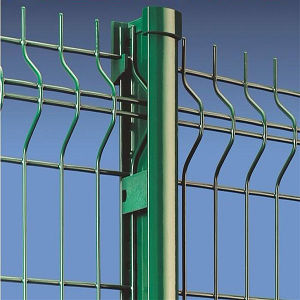 Powder Coated 3D Curved Wire Mesh Fence pictures & photos