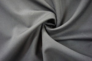 Wool Fabric for Suit Satin Weave Dark Blue pictures & photos