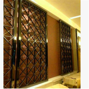 Hot Sale OEM Stainless Steel Screen Partition for House Room Divider Decoration pictures & photos