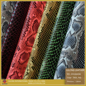 Snake Skin Pattern Cloth Fabric (BY010) pictures & photos