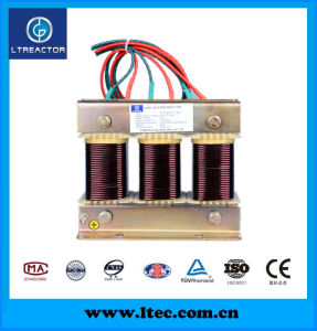 Three Phase High Quality Filter Reactor for Capacitors Bank