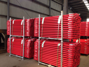 Ringlock Scaffolding Horizontal Red Powder Coated From China pictures & photos