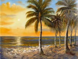 Wholesale Landscape Canvas Art Prints or Modern Oil Painting (LH-318000) pictures & photos