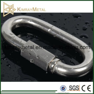 304 and 316 Stainless Steel Wire Rope Rigging Quick Link pictures & photos
