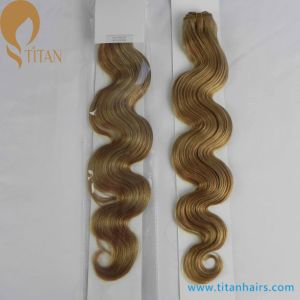 Indian Remy Human Hair Weave Piano Color 27/613#