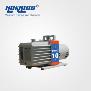 Double Stage Oil Lubricated Spring-Free Vane Vacuum Pump (2RH010C) pictures & photos
