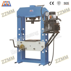 Manual Electric Hydraulic Foming Press Mchines (HP-100S/D) pictures & photos