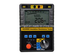 5kV Insulation Resistance Tester GD-2000D pictures & photos