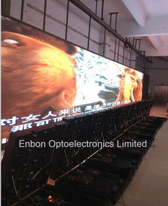 Outdoor Waterproof P10mm Front Open/Front Service/Front Maintance LED Billboard for Fixed Installation pictures & photos