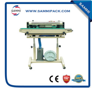 Dbf-1000 Gas-Flushing Continuous Band Sealer, Plastic Bag/Film Sealing Machine