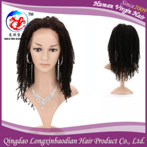 Curly Human Remy Virgin Hair Wig Full Lace Wig (WKCB-AF307)
