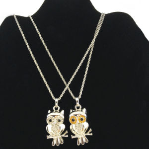 Wholesale Owl Pendant Necklace in Fashion Trends (FN16040721)