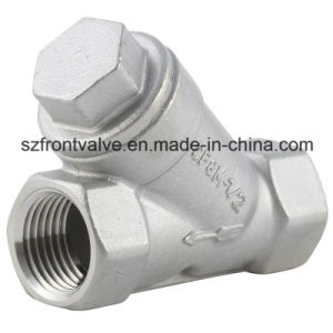 Precision Casting Screwed Stainless Steel Y-Strainer pictures & photos