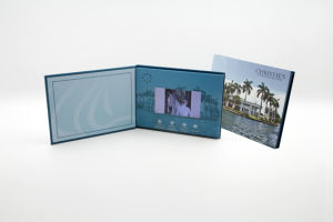 4c Printed 4.3 Inch Video Greeting Card with 256MB Memory pictures & photos