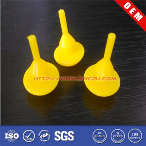 Factory Supply Molded Yellow Wholesale Plastic Parts pictures & photos