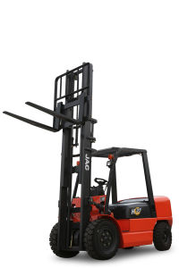 3.5ton Forklift Truck with Imported Japan Isuzu Diesel Engine pictures & photos