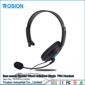 Special Wired Unilateral Single Side Earphones Headset for PS4