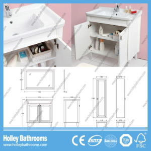 Hot Selling Compact Classic Solid Wood Bathroom Vanity (BV205W) pictures & photos