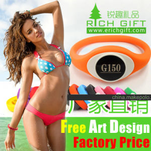 Nigeria Hot Selling Chinese Wholesale Embossed/Debossed Wristband Glow pictures & photos