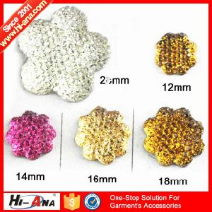 Many Self-Owned Brands Various Colors Resin Hotfix Rhinestone pictures & photos