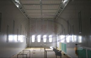 Large Powder Coating Spray Booth for Bus and Truck Wld15000 pictures & photos