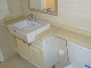 Quartz/Marble/Granite Bathroom Vanity, Hotel Countertop pictures & photos