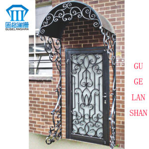 High Quality Crafted Wrought Single Iron Gate 034 pictures & photos
