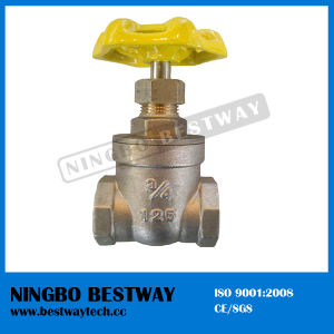 High Performance Nrs Thread Brass Gate Valve (BW-G07) pictures & photos