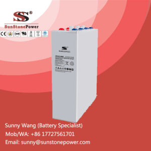 Rechargeable Lead-Acid 2V 3000ah Tubular Gel OPzV Batteries for PV Solar System pictures & photos