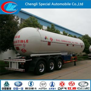New Tri Axle 50000 Liters LPG Tank Semi Trailer 3 Axels Used LPG Trailers for Sale pictures & photos