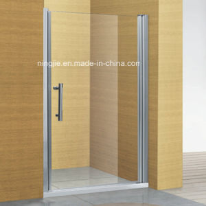 Simple Single Temper Glass Hotel Shower Door (A-8909) pictures & photos