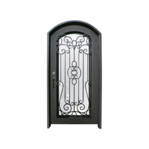 Elegant Wrought Iron Single Entry Door for House pictures & photos